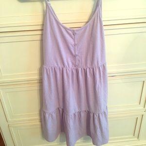 Purple Ruffle Dress! Very cute!!